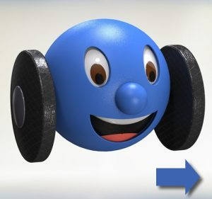 Wheelie as 3D model