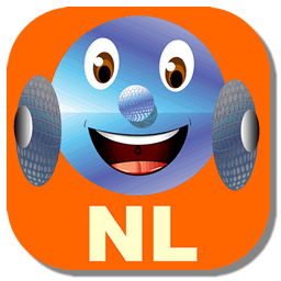 Icon of the app showing Wheelie and the letters NL.