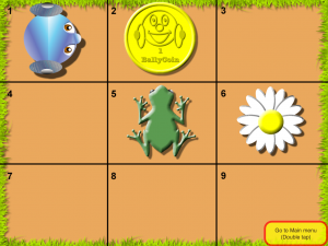 screenshot Coding Challenge 3, level 1